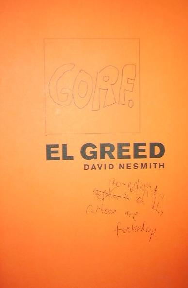 El Greed by David NeSmith