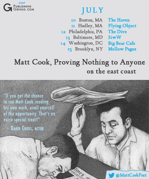 Matt Cook's Tour