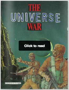The Universe War by Guy Benjamin Brookshire